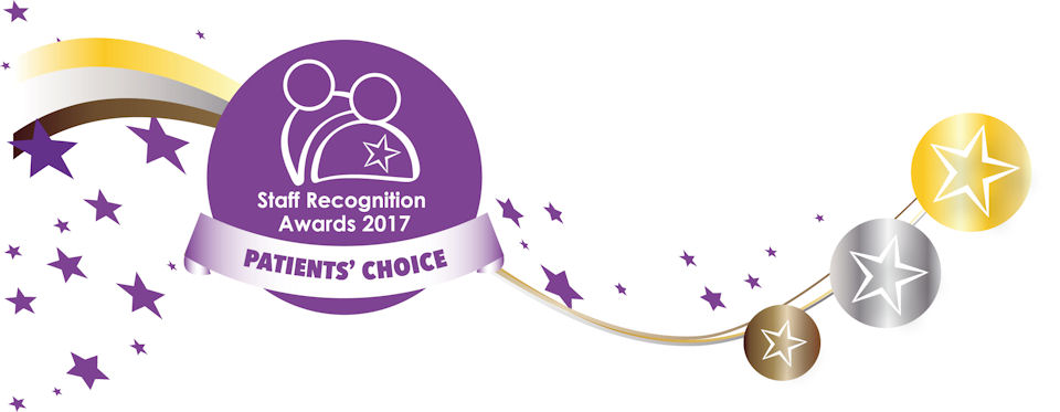 Staff Recognition Awards 2017 - Patients' Choice