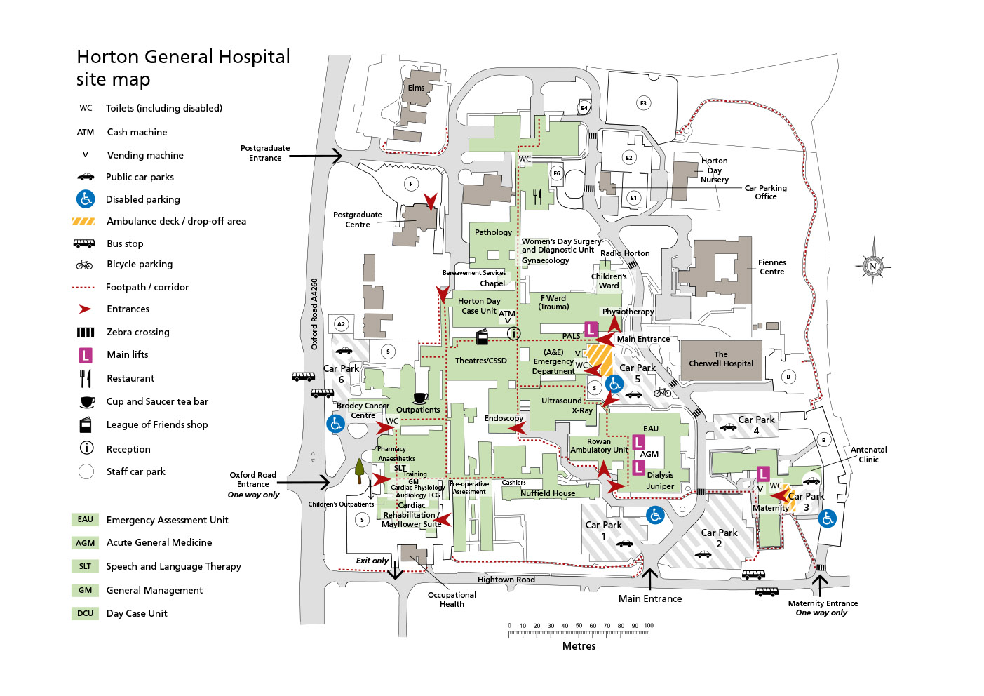 House md hospital layout