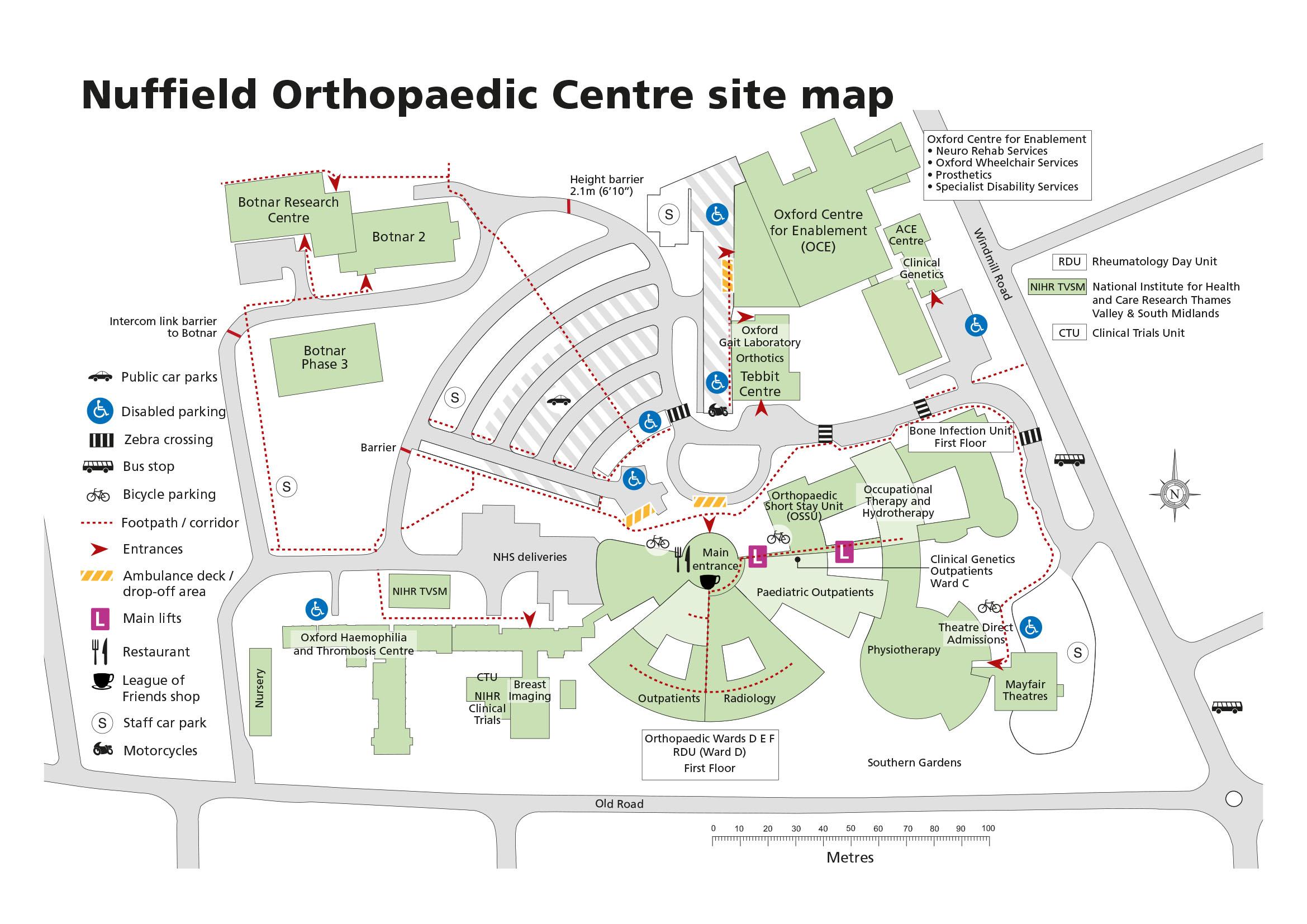 Car Park Near Oxford University