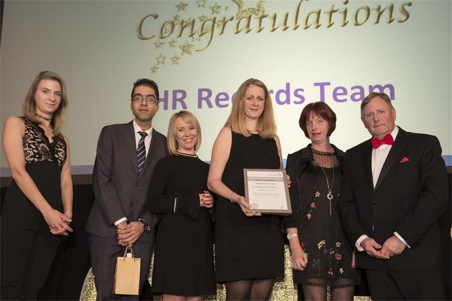 Chairman's Award - Highly Commended: HR Records Team
