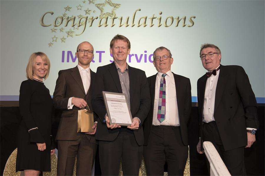 Award for Team of the Year - Highly Commended: IM&T Services Team