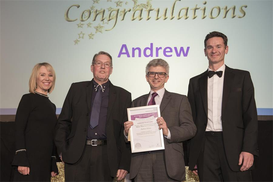 Patients' Choice Award - Highly Commended: Dr Andrew Kelion