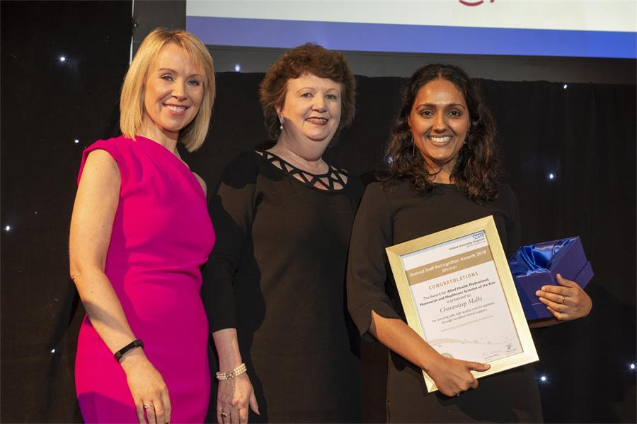 Allied Health Professional/Healthcare Scientist/Pharmacist of the Year - Charandeep Malhi