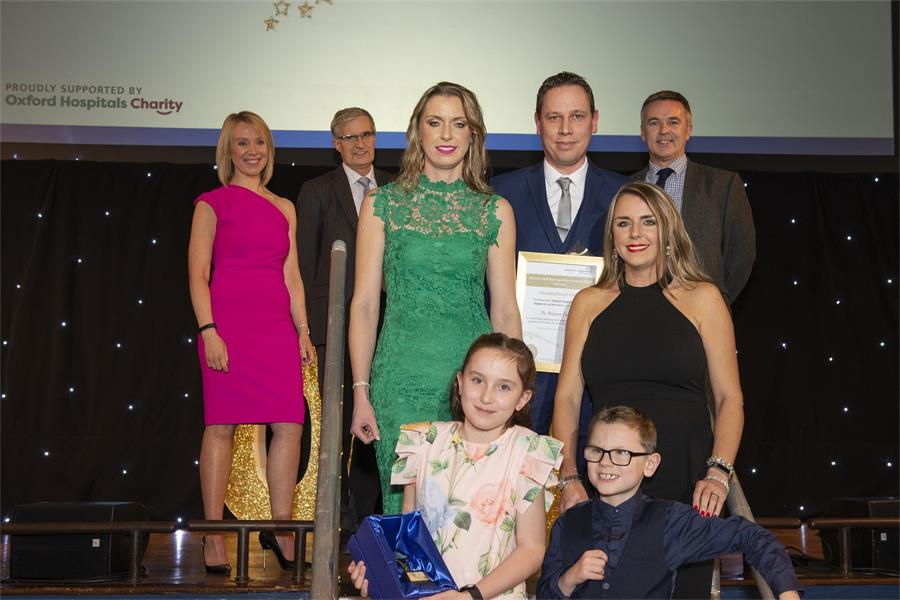 Oxford Hospitals Charity Supporter of the Year - the Balaam Family