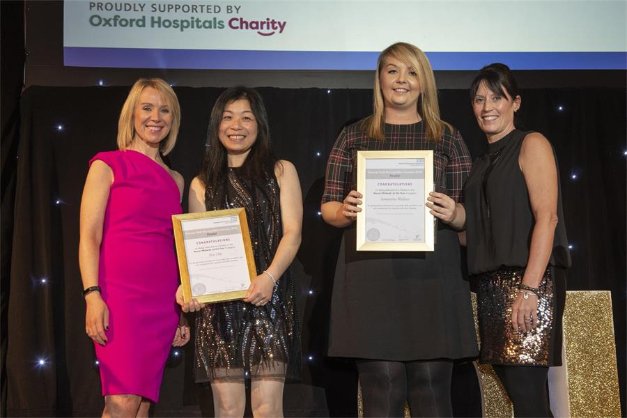 Nurse/Midwife of the Year - Finalists Yun Ody and Samantha Wallace