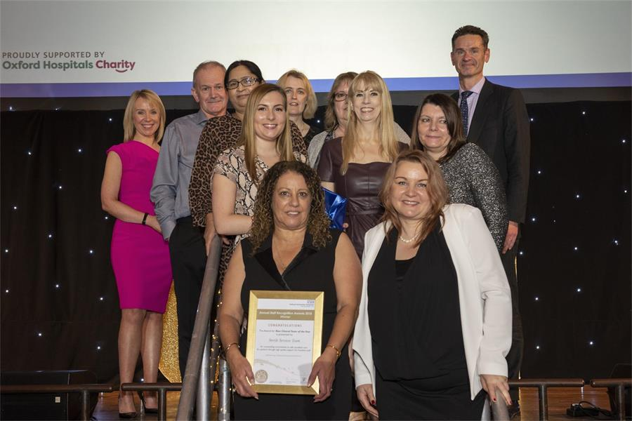 Non-clinical Team of the Year - Sterile Services Team