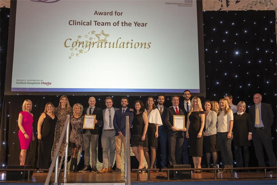 Clinical Team of the Year - Finalists Adult ICU/CICU and Surgical Emergency Unit (SEU)