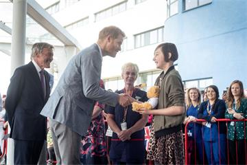The Duke of Sussex visits Oxford Children's Hospital