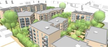 Planning application lodged for new staff accommodation