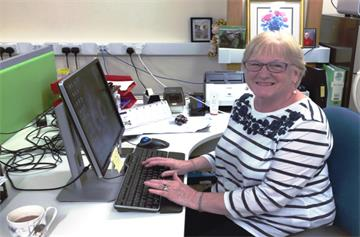 Wendy celebrates 30 years of working at the Horton