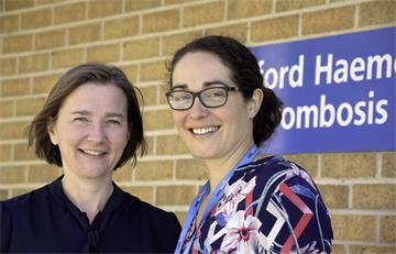 Oxford haematologists win national awards to further their research