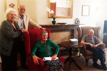 Radio Horton launches at Glebefields Care Home