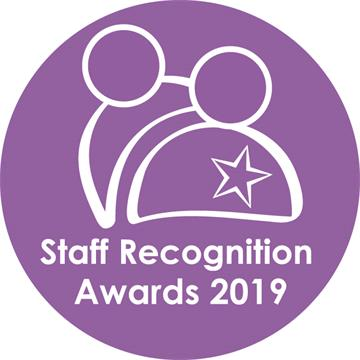 2019 Staff Recognition Awards finalists announced