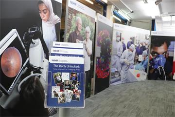 Exhibition on NHS research launched in Oxford