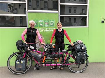 OUH nurse enters record books after wheely epic journey