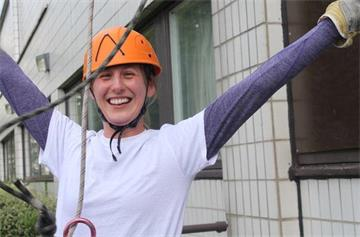 Father's Day abseilers support causes across OUH