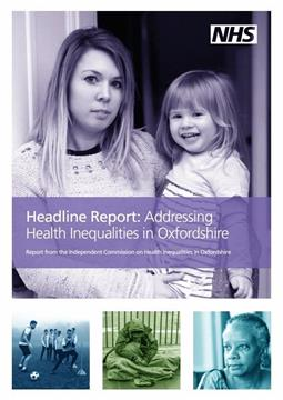 Image result for addressing health inequalities in oxfordshire
