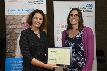OUH staff who support NHS research honoured