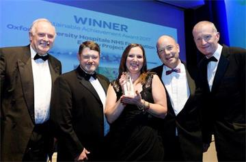 OUH Energy Project picks up prestigious award