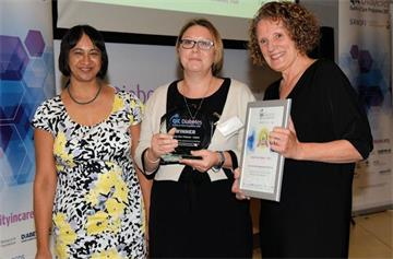 OUH team recognised at QiC Diabetes 2017