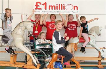 Oxford Children's Hospital Charity celebrates raising £1 million