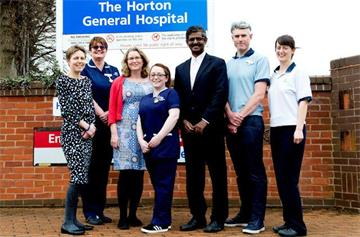 Horton hip fracture service shortlisted for national award