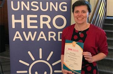 Well-deserved recognition for our unsung hero