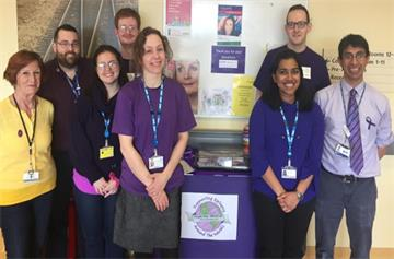 Staff go purple to raise funds for epilepsy charity