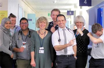 Acute Ambulatory Unit facing mud, sweat and cheers