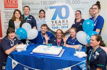 NHS 70th birthday celebrated in style