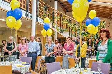 30 years of education celebrated at Sobell House