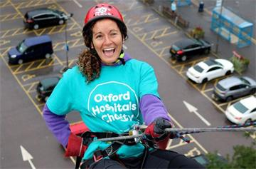 Oxford Hospitals Charity declares best ever abseil