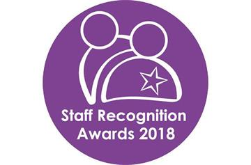 Staff Recognition Awards shortlist announced
