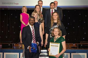 Horton's hip fracture team named as one of the best in the country for sixth year in a row