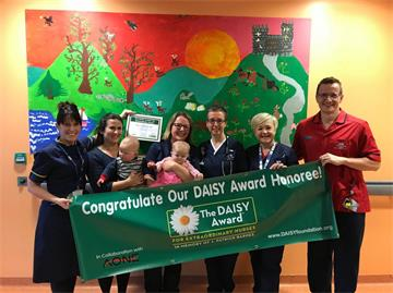 Exceptional nurses awarded for excellent care