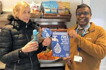 OUH commits to reducing plastic waste on NHS Sustainability Day
