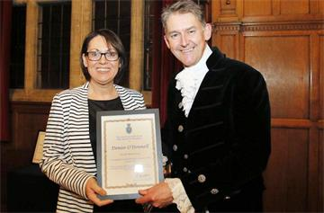 OUH nurse recognised at High Sheriff Awards