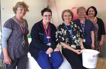 Staff getting into gear on International Day of the Midwife