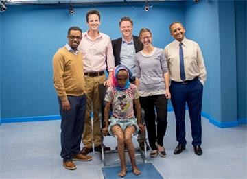 Motion-capture helps heal kids in Ethiopia