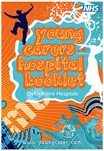 Young carers' hospital booklet cover