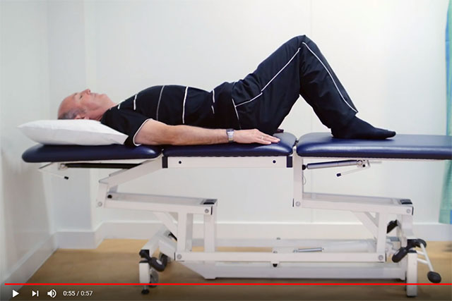 Knee Rolling Lower Back Stretch video
