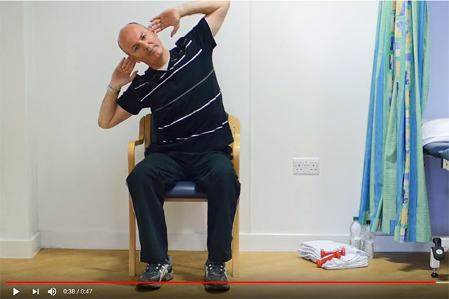 Sitting Side Bend (Upper Thoracic Lateral Flexion) video